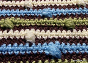 Joseph's Puff Stitch Blanket