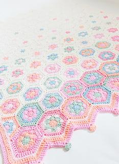 Hexagon Baby Deken